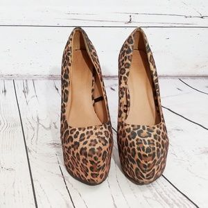 7fb807289c4f Women Cheetah Print Shoes Forever 21 on Poshmark